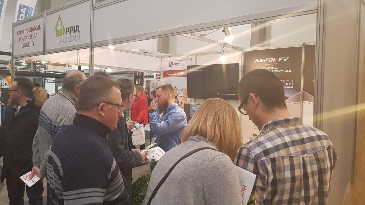 Targi Expo 2018 Targi Budownictwa i Wyposażenia Wnętrz INTERBUD 2018 Łódź Appia Technical